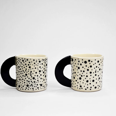 Kiwano Handmade Cup with Dots |  Small