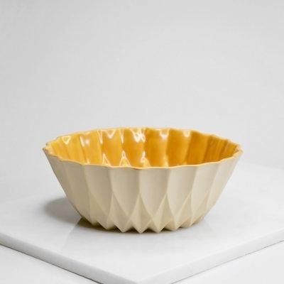 Kiwano Handmade Ceramic Snack or Fruit Bowl