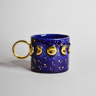 Kiwano Moon Phase Cup with 24 ct. Gold Lustre | Medium