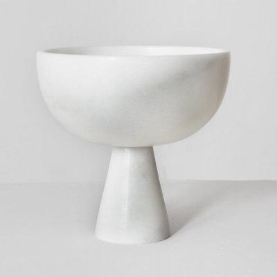 Kiwano Large Black Marble Bowl