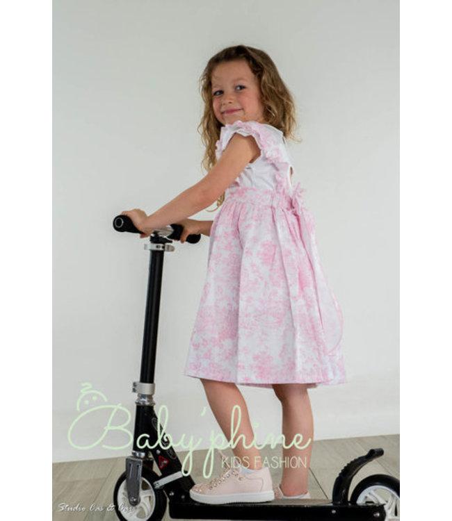 PHI CLOTHING PHI CLOTHING | Jurk met roze bloemenprint