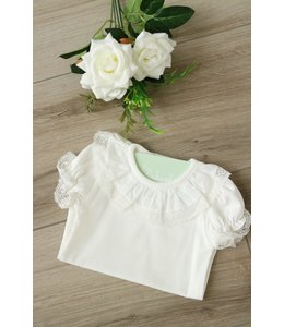 LAIVICAR White body with lace on the collar