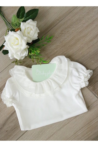 Ivory body with double collar