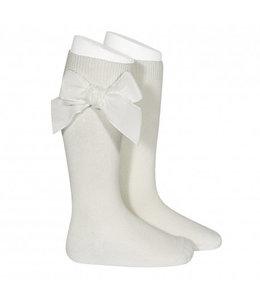 CONDOR  Knee socks with velvet Cava