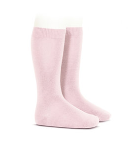 CONDOR  Knee socks without bow Rosa Palo
