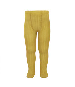 CONDOR  Tights With Rib Curry