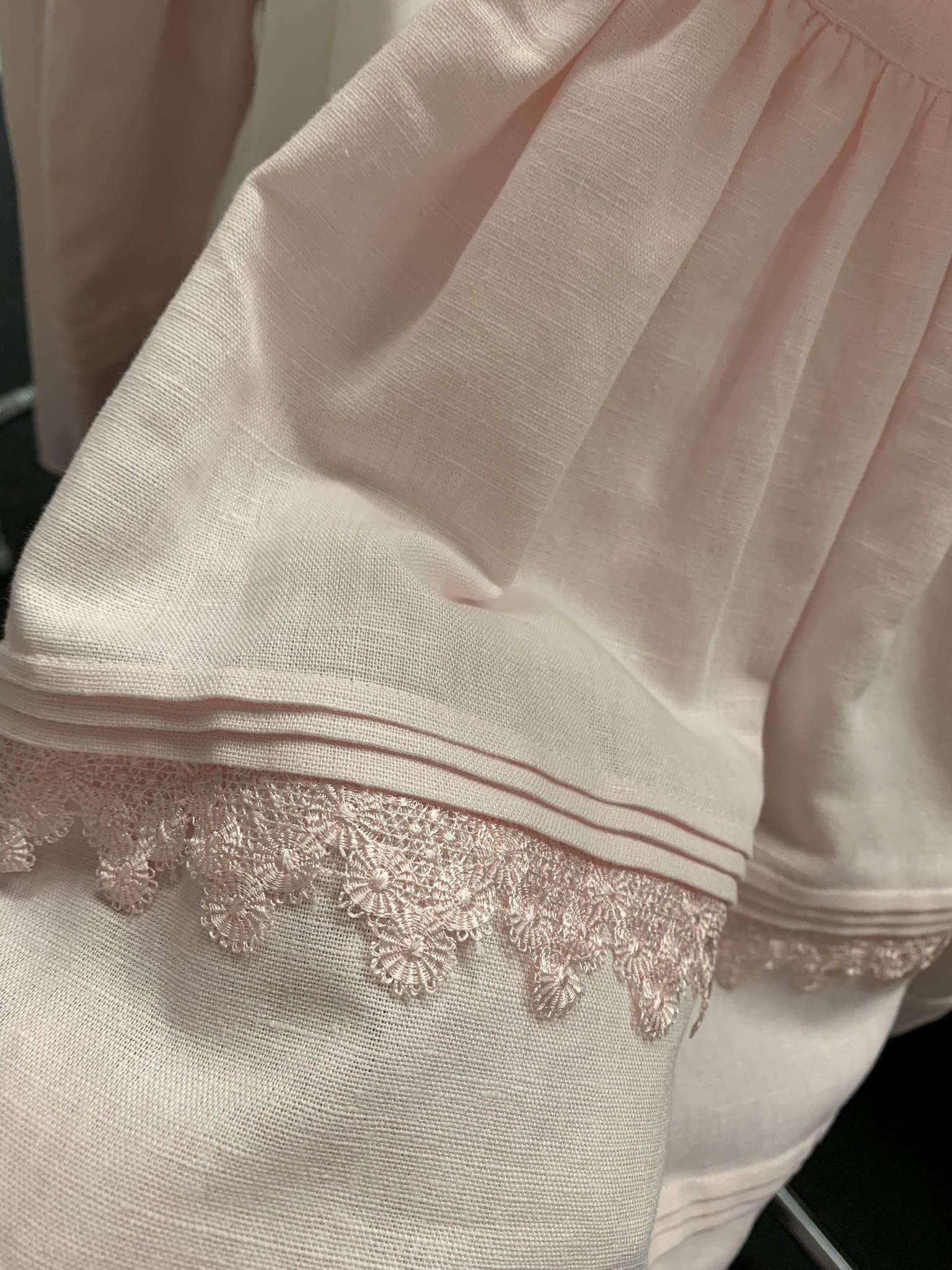 PATACHOU | Prachtig roze jurkje met twee strikken op de schouders-3