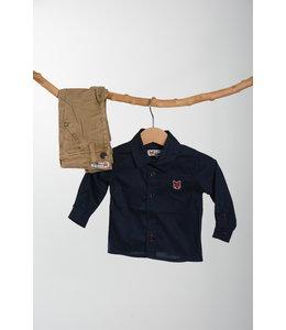 LCEE Donkerblauw Hemd