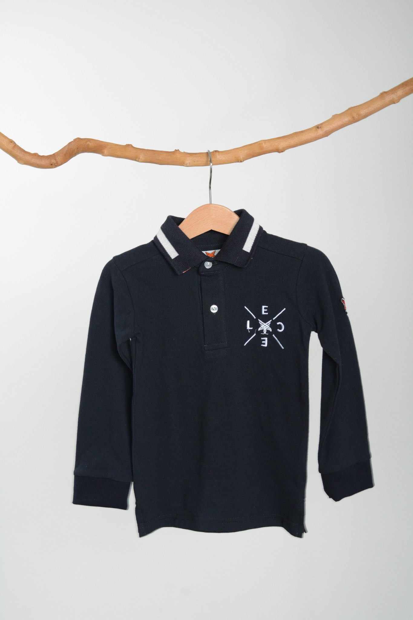 LCEE | Donkerblauwe polo-1