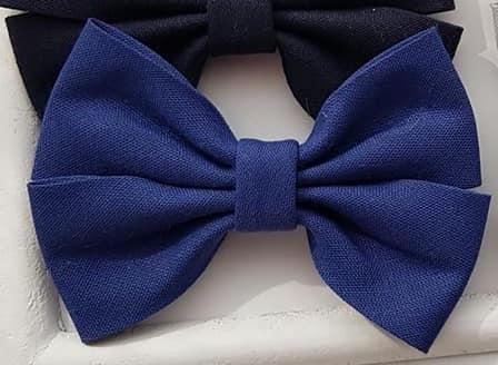 Katoenen strik ROYAL BLUE-1