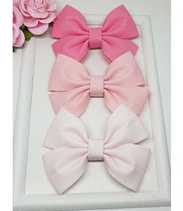 HELENA'S BOWTIQUE Cotton bow PINK