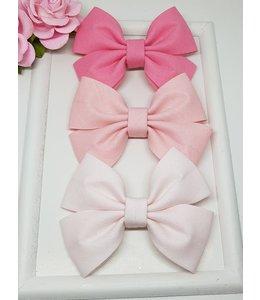 HELENA'S BOWTIQUE Cotton bow SOFT PINK