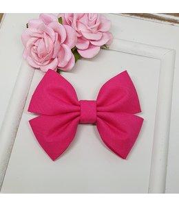 HELENA'S BOWTIQUE Cotton bow FUSHIA