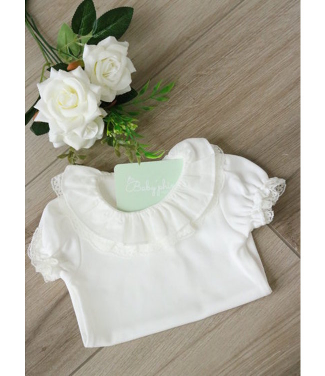 LAIVICAR White body with a double collar