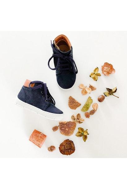 Dark blue boy's shoe