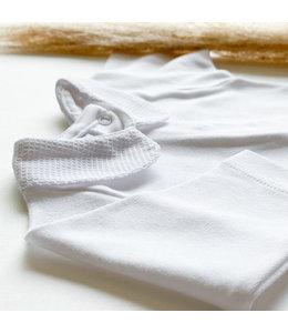 BABIDU Body with pique collar and white collar