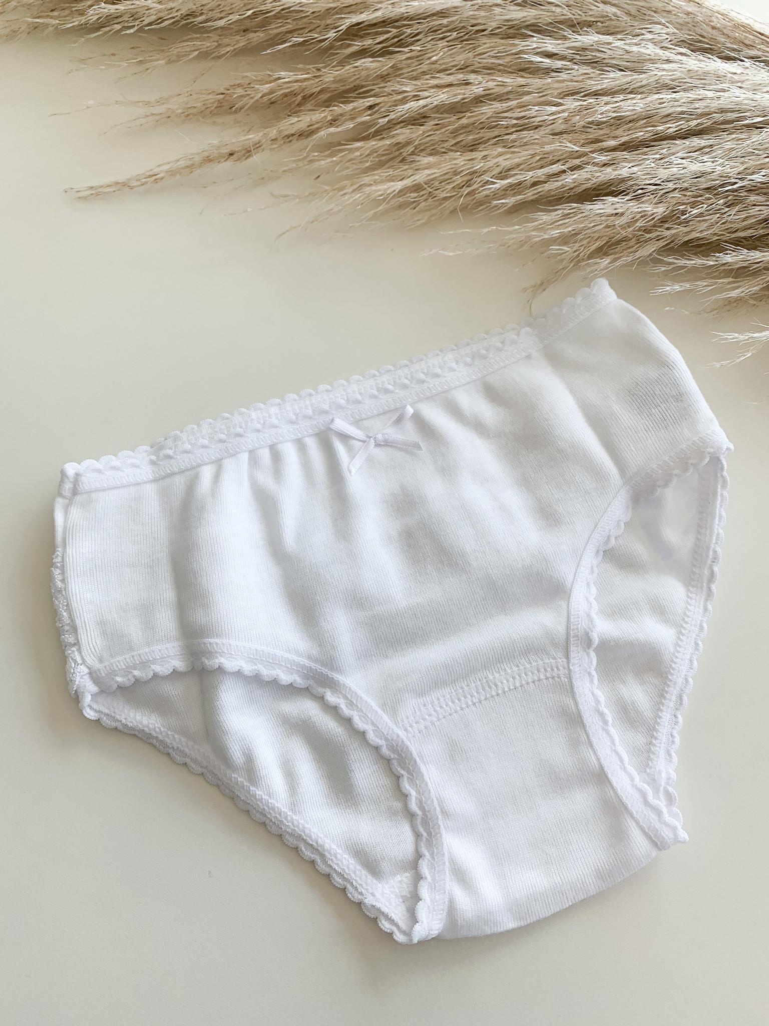 Wit onderbroekje met ruffles-4