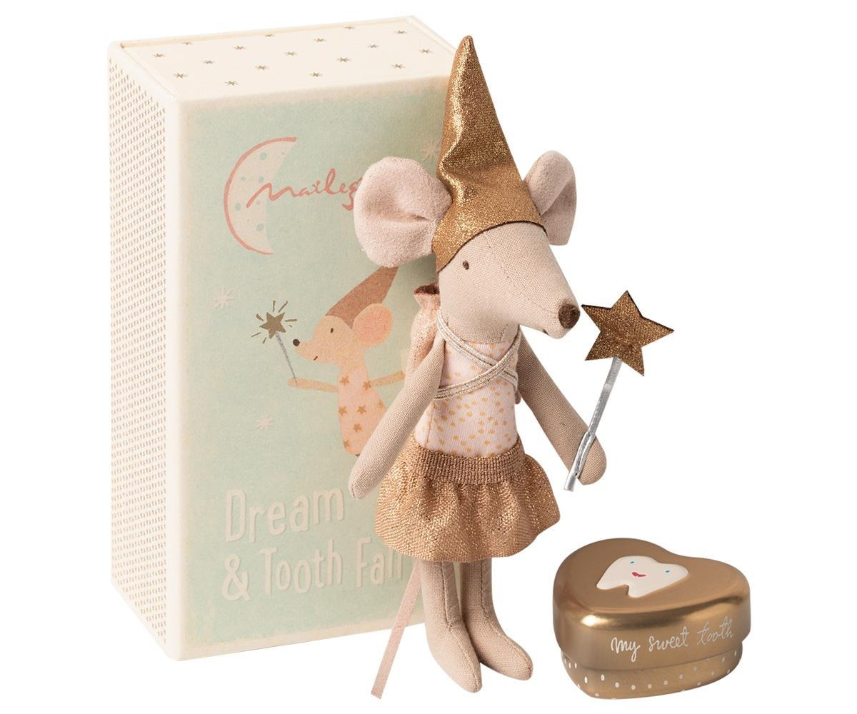 Tooth fairy mouse in matchbox, Big sister-1
