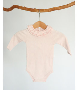 PURETE DU BEBE Pink body with nice detail in the collar