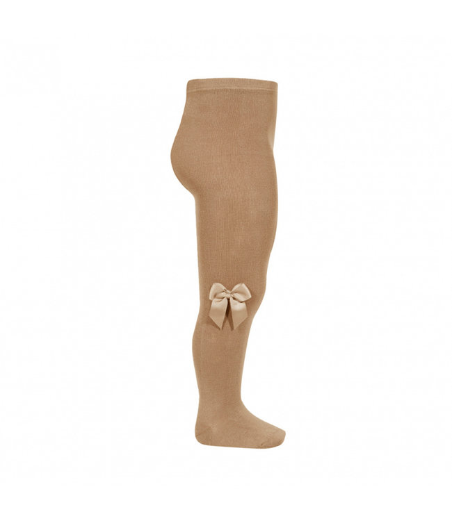 CONDOR   Stockings with bow CAMEL