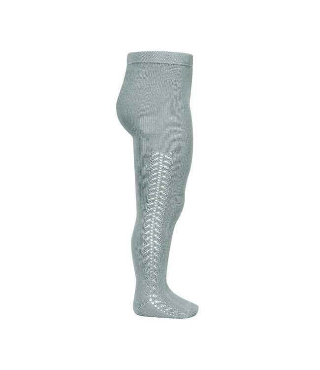 CONDOR  Condor | Stockings with herringbone on the side DRY-GREEN