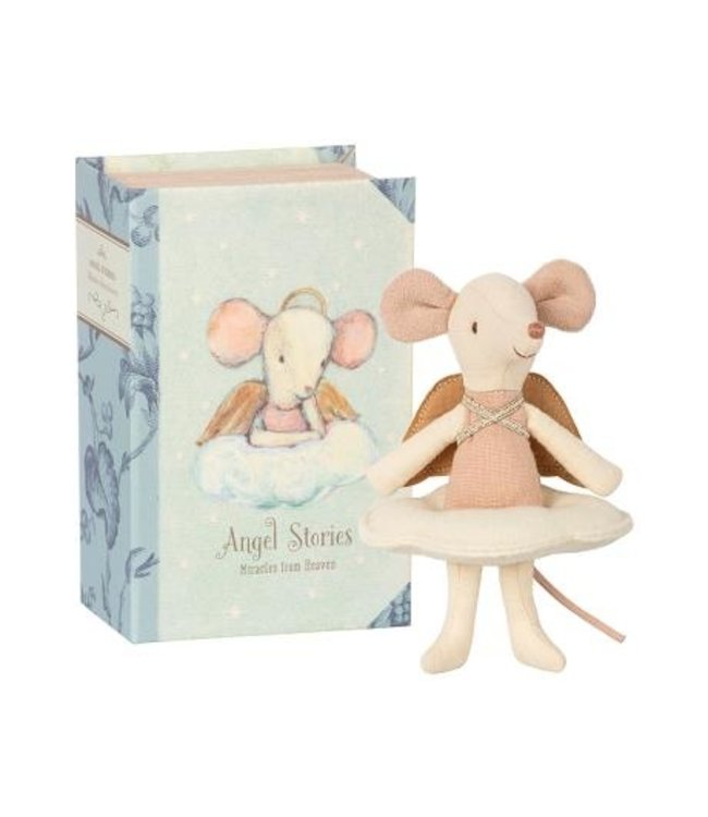 MAILEG | Angel Mouse, Big sister in book