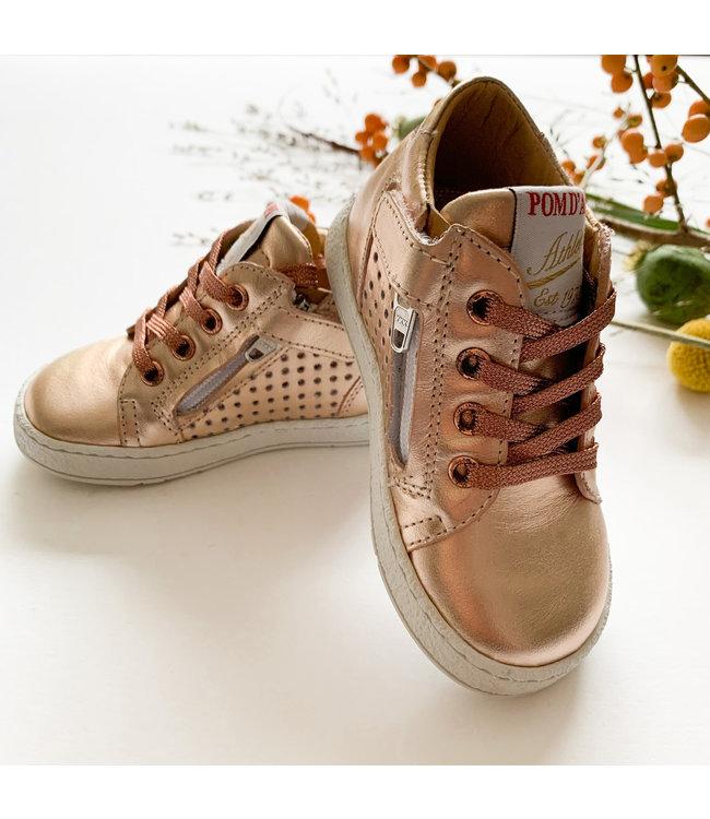 POM D'API  | Rosé gouden sneakers