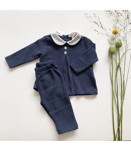 Home wear Navy-Blue