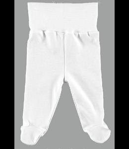 BABIDU White Legging with feet
