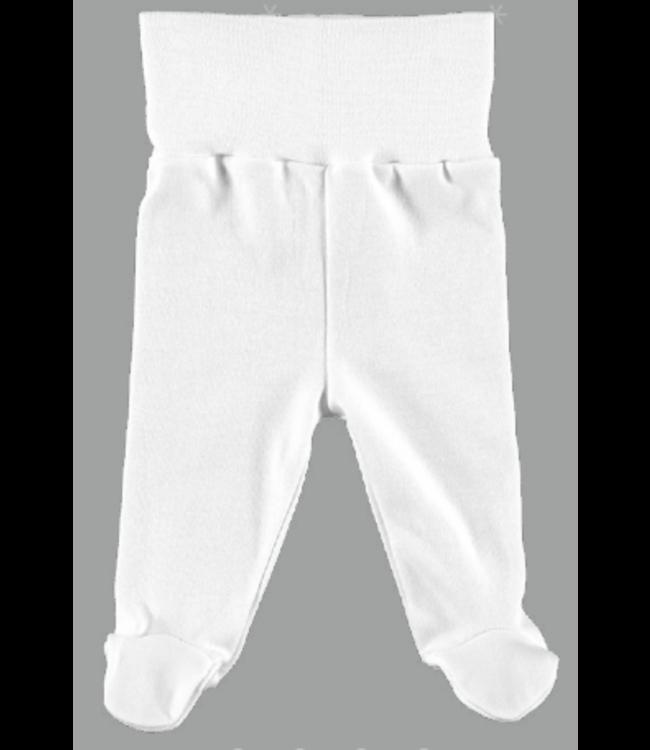 BABIDU BABIDU | Gebroken witte Legging met voetjes