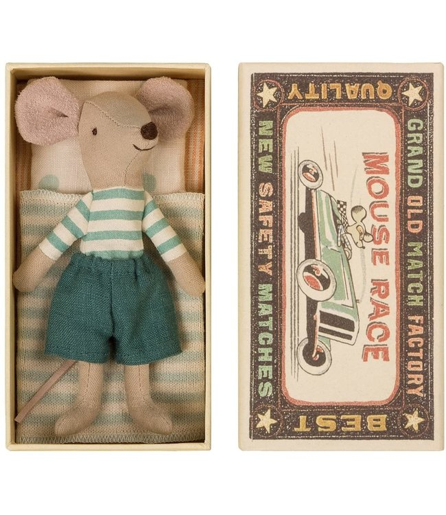 MAILEG MAILEG | Grote broer muis in doos blauwe broek