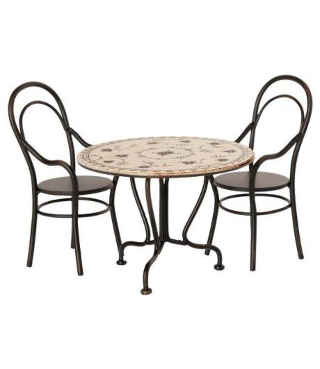 MAILEG MAILEG | Dineertafel met 2 stoelen