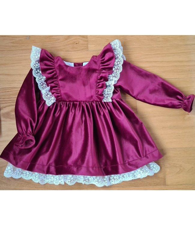 Beautiful velvet Christmas dress