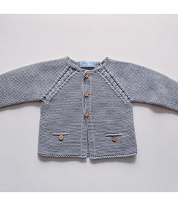 MAC ILUSION Cardigan with wooden buttons MOON