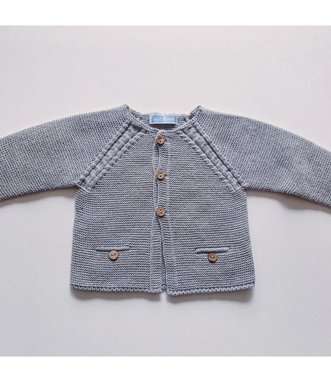 MAC ILUSION MAC ILUSION | Cardigan with wooden buttons MOON