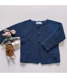 MAC ILUSION Dark Blue Cardigan