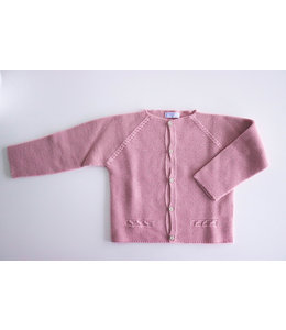 MAC ILUSION Dusty pink Cardigan with wooden buttons