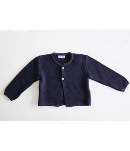 MAC ILUSION Blauwe neutrale cardigan