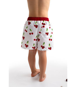 Meia Pata Swimshort with cherries