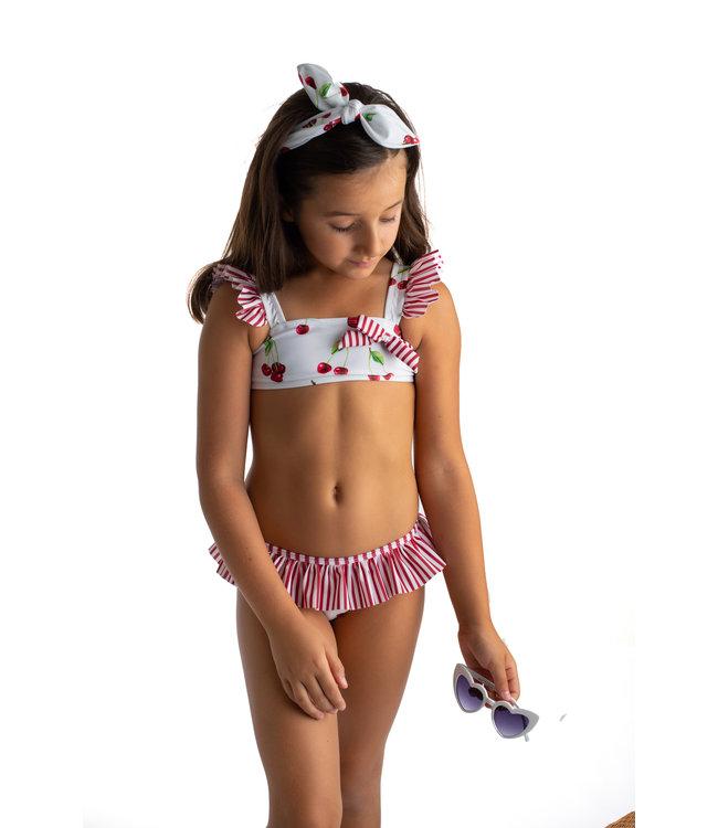 Meia Pata Bikini met kersjes