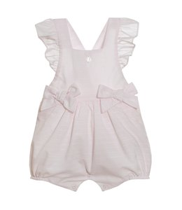 PATACHOU Pink onesie with two bows