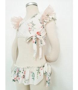 Bikini in zachte bloemenprint