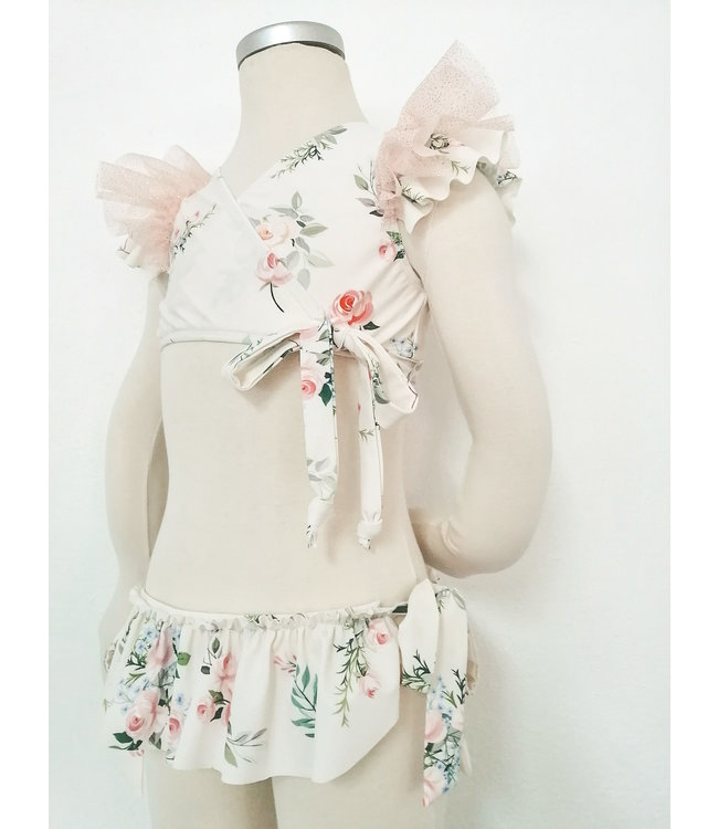 BE CHIC | Bikini in zachte bloemenprint