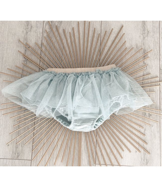 BE CHIC | Mint green tulle bloomer