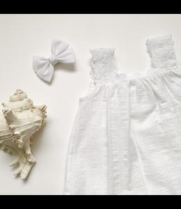 BABIDU White playful bloomer set