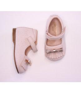 Nice glitter shoe in nude pink