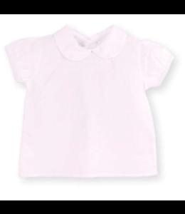 MAC ILUSION Plumeti blouse with peter pan collar