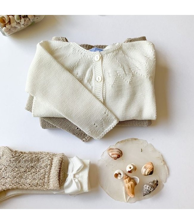 CONDOR  CONDOR | Old Rose Golden Knee socks Beige