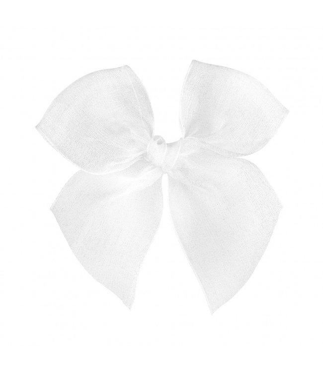 CONDOR  CONDOR   Hairclip with Organza bow White