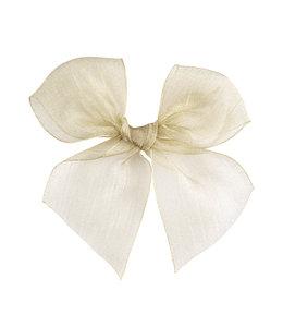 CONDOR  Hairclip with Organza bow Linen